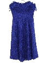 Womens/Girls Totally 80s Prom Or Cocktail Dress