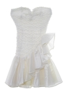 Womens or Girls Totally 80s Mini Prom Or Cocktail Dress