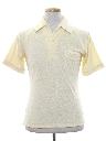 Mens Terry Cloth Knit Shirt