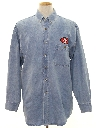 Mens Denim 49ers Shirt