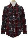 Mens Plaid Flannel CPO Style Shirt Jacket