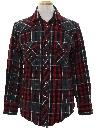 Mens Plaid Flannel CPO Style Shirt Jacket