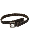 Mens Accessories - Woven Leather Belt