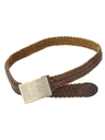 Womens Accessories - Woven Leather Western Belt