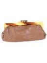 Womens Accessories - Mod Leather Clutch Purse