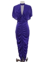 Womens Totally 80s Wiggle Prom Maxi Dress