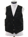Womens Totally 80s Suede Leather Vest