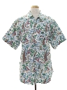 Mens Totally 80s Hawaiian Style Shirt