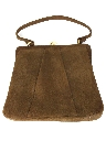 Womens Accessories - Suede Leather Purse