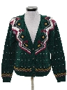 Womens Totally 80s Style Cardigan Sweater