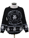 Womens Totally 80s Cheesy Kitschy Sweater