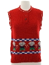 Womens Kitschy Cheesy Sweater Vest