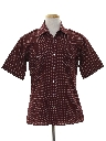 Mens Designer Safari Style Sport Shirt