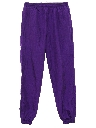 Womens Baggy Totally 80s Track Pants