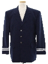 Mens Blazer Sport Coat Pilot Jacket