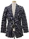 Mens Corduroy Disco Blazer Sportcoat Jacket
