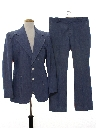 Mens Denim Disco Suit