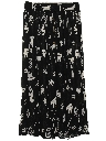 Womens Hippie Broomstick Skirt