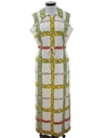 Womens Designer Mod Maxi Dress