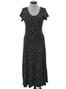 Womens Totally 80s Maxi Dress