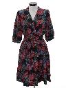 Womens Totally 80s Secretary Dress