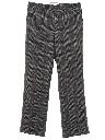 Mens Flared Wool Slacks Pants