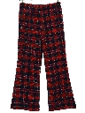 Womens Knit Bellbottom Pants