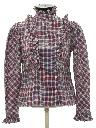 Womens Ruffled Front Prairie Shirt