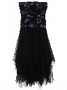 Womens Wicked 90s Designer Prom Or Cocktail Dress