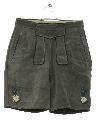 Mens/Boys Suede Leather Lederhosen Shorts