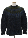 Mens Wool Ski Sweater