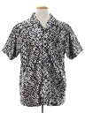 Mens Print Disco Style Club/rave Shirt