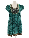 Womens Ethnic Hippie Dress