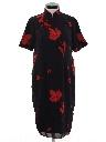Womens Cheongsam Dress