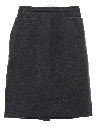Womens Wool Wiggle Skirt