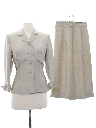 Womens Wool Skirt Suit