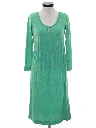 Womens Totally 80s Terry Cloth Dress