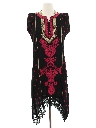 Womens Ethnic Hippie Salwar Kameez Dress