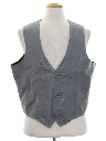 Mens Leather Western Vest