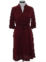 Womens Velour Dress