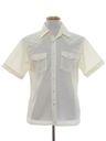 Mens Western Style Sport Shirt