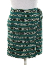 Womens Hippie Wrap Mini Skirt