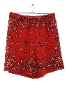 Womens Wicked 90s Baggy Print Shorts
