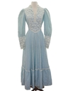 Womens Prairie Dress