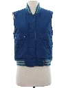 Womens Totally 80s Reversible Ski Vest Jacket