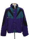 Mens Totally 80s Ski Style Jacket