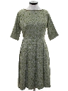Womens Damask Dress