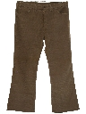 Mens Jeans-Cut Corduroy Bellbottom Pants