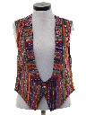 Womens Guatemalan Style Hippie Vest