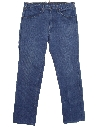 Womens Flared Leg Denim Jeans Pants